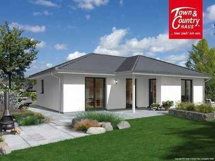 Wohnen auf einer Ebene in Ihrem Town & Country Winkelbungalow 108 inklusive Grundstück