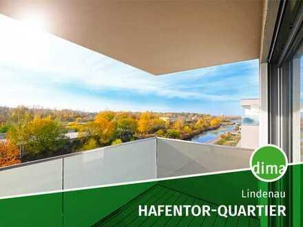 NEUBAU | HAFENTOR-QUARTIER | Bonus bis Ende 23019 | Fußbodenheizung | Parkett | Wasserblick | Loggia