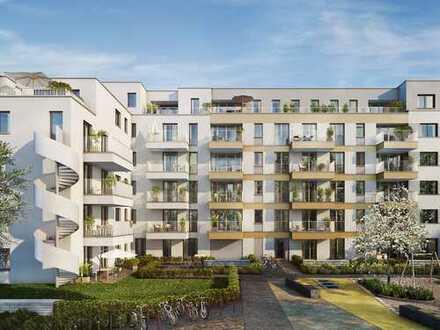 Moderne 2-Zi.-Wohnung mit sonniger Loggia in schöner Umgebung an zukunftsstarkem Standort
