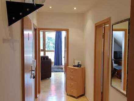 Sonnige 3 - Zimmer DG Wohnung in Assamstadt, Rundumblick