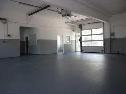 Modernisierte Werkstatt mit Ausstellungsfläche an viel frequentierter Einfallstraße
