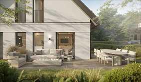 FORMHAUS | Moderne Wohnkultur. Schöne Doppelhaushälfte