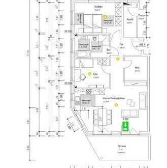 Erstbezug, Einbauküche,Balkon und Fahrstuhl: ansprechende 3-Zimmer-Wohnung in Bad Bramstedt