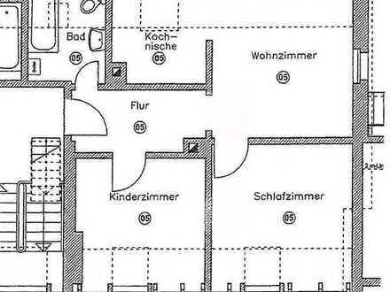 3-Zimmer Wohnung in Kronach Neuses zu vermieten