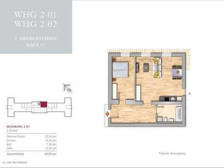Gemütliche 2 Zimmer Wohnung im grünen Buch