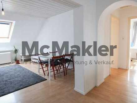 Helle und offene 3-Zi.-Dachwohnung in Leonberg mit TOP-Anbindung nach Stuttgart - sofort beziehbar!