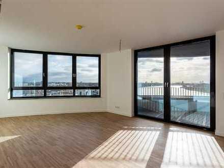 Schön geschnittene 3-Zimmer-Wohnung direkt am Rhein