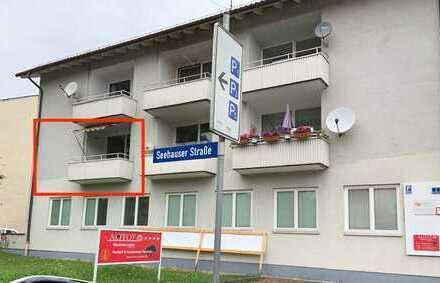 Schöne 3-Zimmer-Wohnung mit Balkon in Seehausen am Staffelsee