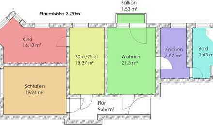 *Schöne 4-Raum-Altbauwohnung im Zentrum von Senftenberg ab 01.11.2019*