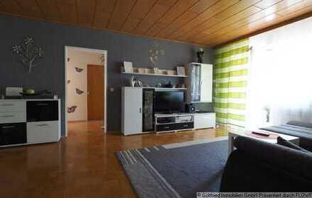 Vermietete 3-Zimmer-Wohnung mit gemütlicher Loggia und Garage