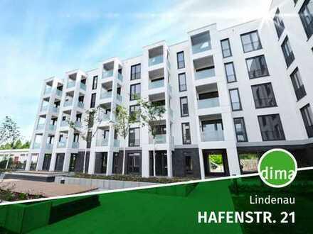 ERSTBEZUG | HAFENTOR AHOI, Südwest-Balkon, 2 Bäder, TG-SP, Fußbodenheizung, Parkett, elek. Rollläden