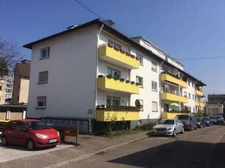 3 ZKB in Baden-Baden/Oos, ruhige Lage nahe Bhf, 89qm + großem Süd-BK, € 740,- +NK/HZ