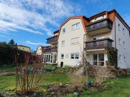 Helle, gut geschnittene 3-Zimmer-Wohnung mit Balkon in ruhiger, grüner Umgebung in Chemnitz/Grüna