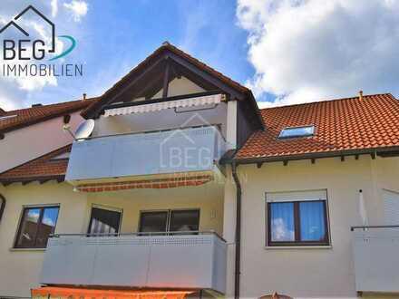 Gemütliche 3-Zimmer Wohnung mit Balkon, Garage und Außenstellplatz