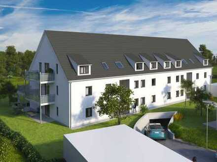 Tolle 3 Zimmer Neubau Wohnung mit Gartenanteil und Westausrichtung