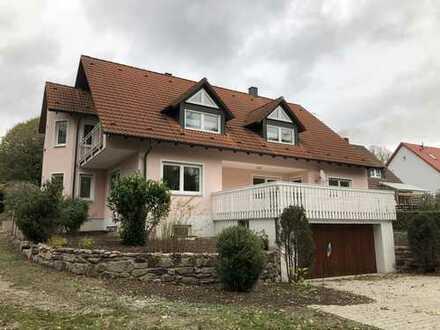 Wohnen im Grünen! Freistehendes Einfamilienhaus zur Alleinbenutzung in Ansbach, Schalkhausen