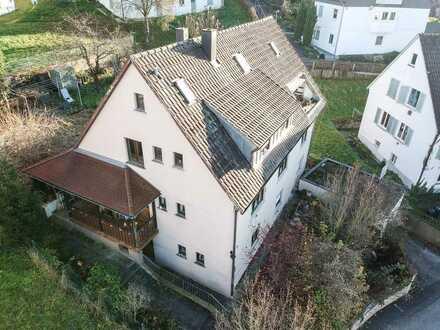 BURGER IMMOBILIEN! Remshalden-Geradstetten - Mehrfamilienhaus in beliebter Wohn- und Aussichtslage!