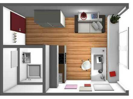 schöne helle 1 Zimmerapartments / Uniklinik Apartments teilmöbiliert