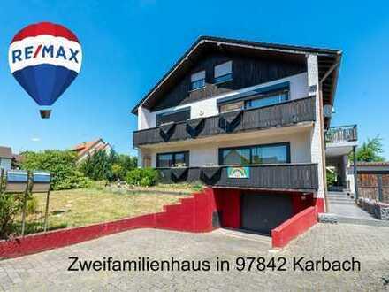 Zweifamilienhaus in der Zernstraße 12 in 97842 Karbach – Ihr Landeplatz!