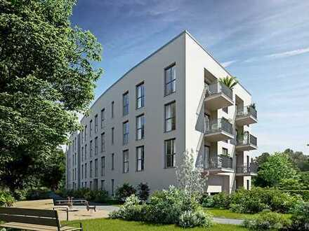 Leben mit höchstem Wohnkomfort in sonniger 3-Zimmer Wohnung mit Tageslichtbad und Balkon