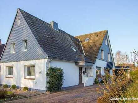 Schacht- Audorf: Großzügiges Wohnen in Kanalnähe mit zwei Wohneinheiten