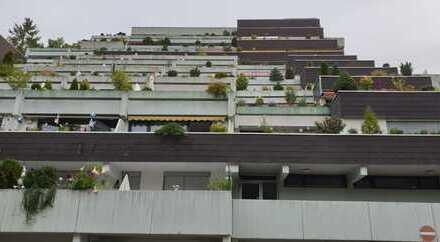 1-2 Zimmer-Wohnung mit Traumaussicht im Terrassenhaus - Mietrendite ca. 4.50 %