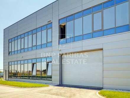 Neubau Lager-/Logistik-/Produktionsflächen mit Büroteil