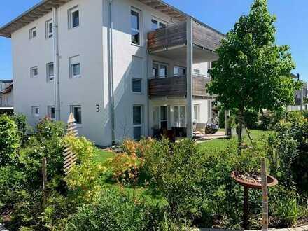 Sonnige EG-Wohnung in Dußlingen für Gartenliebhaber