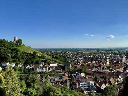 [ Branich 1.636 m2 ] Grundstück mit freiem Blick in die Rheinebene und auf die Strahlenburg