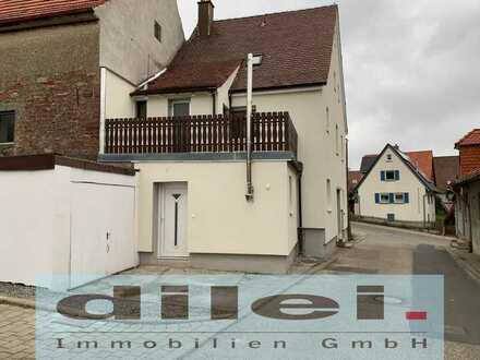 **gemütliche 1-Zimmer-Whng. mit sep. Eingang in kernsaniertem EFH in Wurmberg zu vermieten**