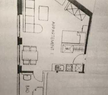 340 €, 30 m², 1 Zimmer