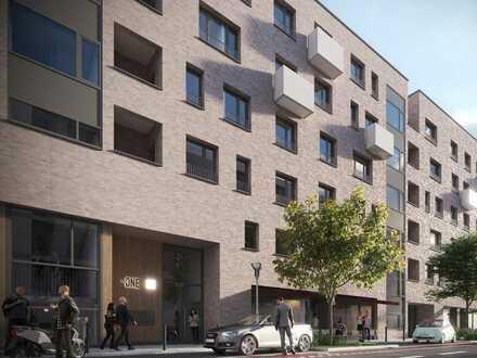 Neubau - Großzügige Schaufensterfront - ca. 219 m² große Gewerbefläche inmitten Mannheims