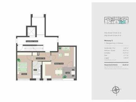 2-Zimmer-Neubauwohnung im Grünen