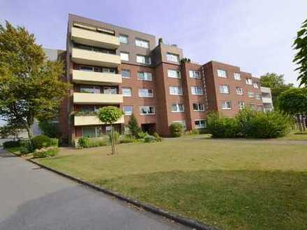 Große 3,5 Zi.-Wohnung mit Balkon, vermietet, in DU-Buchholz. Rendite ca. 5,73 %