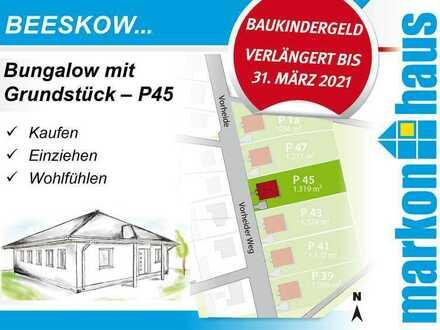 Beeskow - Bungalow mit Grundstück P45