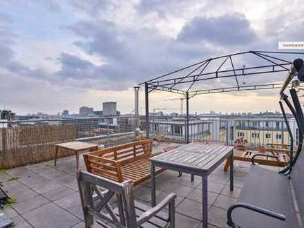 IMMOBERLIN: Toplage! Helle, vermietete Wohnung mit Sonnenterrassen