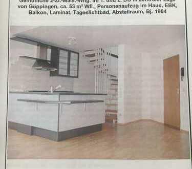 2 Zimmer Maisonette Wohnung GP-Zentrum, gepflegt, mit Balkon, Einbauküche und Aufzug