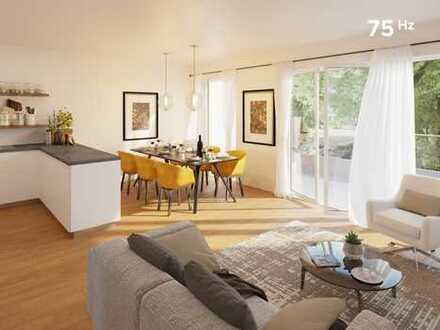 75Hz | Exklusive 2-Zimmer-Neubauwohnung