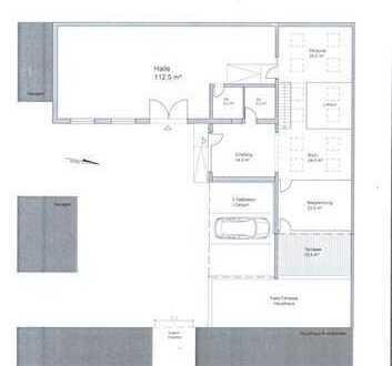 **Nach Umbau** Neue Büro-und/oder Praxisräume **Ideal als Atelier oder für Kleinhandwerksbetri