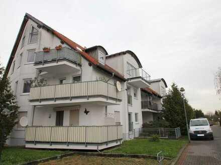 attraktive 2-Raumwohnung im Dachgeschoss mit Balkon! TIEFGARAGE