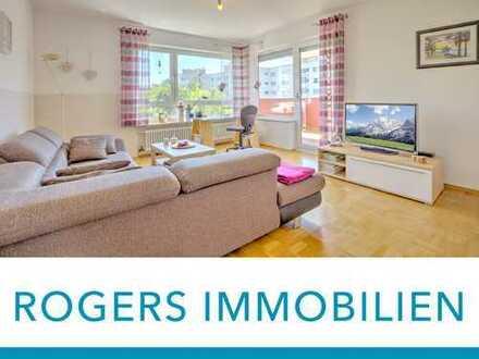 ROGERS: Perfekt geschnittene Wohnung mit Blick ins Grüne