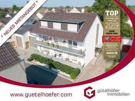 Charmante Etagenwohnung mit Balkon, Garage, Gäste-WC und neuwertigem Wannenbad in Flerzheim