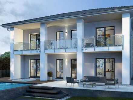 OKAL Haus - Herrschaftliches Wohnen in mediterranem Stil mit sagenhaftem Blick über die Wälder aus d