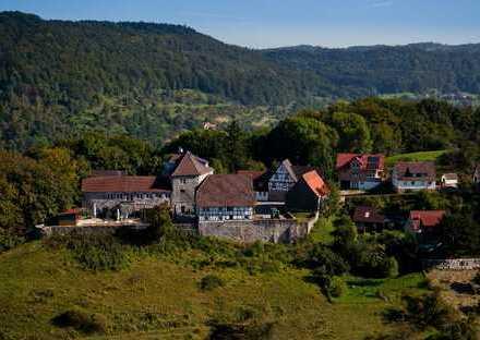 Burganlage mit Hotel und Gastronomie ca. 40 km von Stuttgart