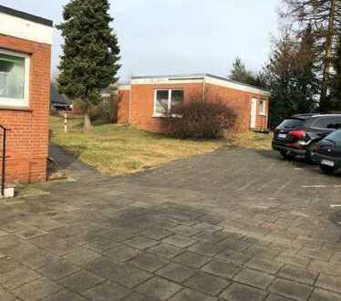 Erstbezug nach Sanierung mit Einbauküche und Balkon: exklusive 1-Zimmer-EG-Wohnung in Cuxhaven
