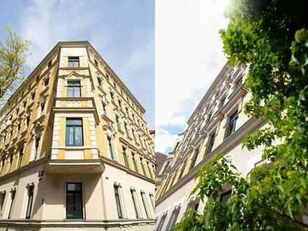 Liebhaberwohnung mit Entwicklungspotential im Leipziger Osten