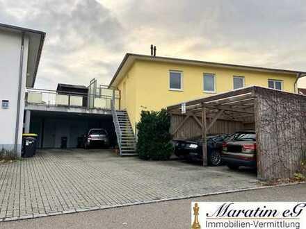 ***Modernes 1-Zimmer Appartement mit Dachterrasse in Reisensburg***