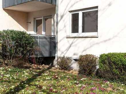 Freie 2-Zimmer-Hochparterre-Wohnung mit 2 Balkonen in Kornwestheim