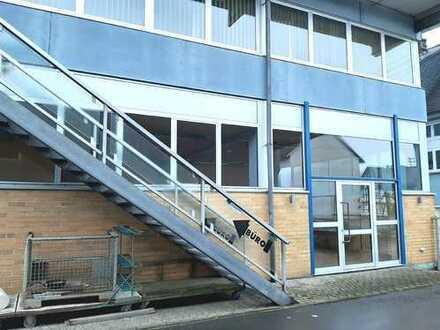 Hallenkomplex ca. 1.900 m² (inkl. 3 Wohneinheiten/Garage ca. 200 m²) in 56357 Miehlen zu verkaufen
