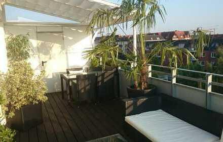 Moderne zwei Zimmer Penthauswohnung in Hamburg, Bergedorf